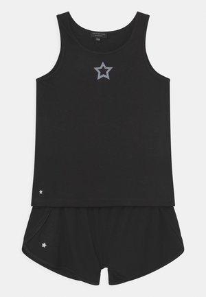 STAR DETAIL RUNNING SET - Top - black