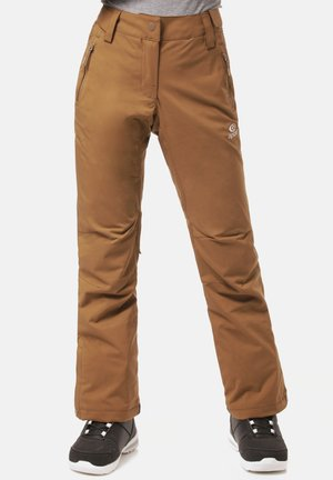 SLINKY - Outdoor trousers - brown