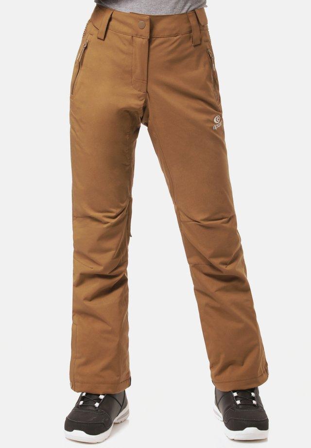SLINKY - Outdoorbroeken - brown