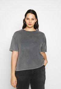 Vero Moda Curve - VMFOREVER OVERSIZED - T-shirts med print - black - 0