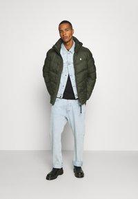 G-Star - WHISTLER PUFFER - Winter jacket - asfalt - 1