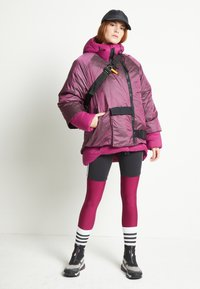 adidas Performance - URBAN COLD RDY OUTDOOR JACKET 2 IN 1 - Down jacket - power berry - 1