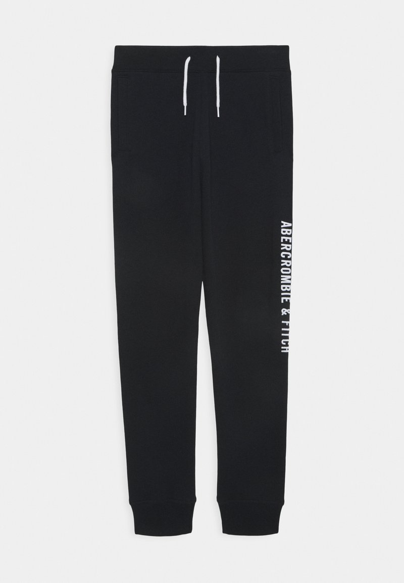 Abercrombie & Fitch - Tracksuit bottoms - black