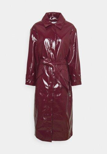 JOURNI COAT - Classic coat - tawny port red