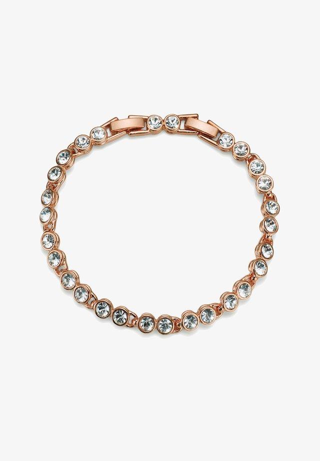 TENNIS - Armband - rosegold