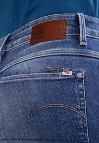 G-Star - 3301 HIGH SKINNY   - Jeans Skinny Fit - medium indigo aged - 5