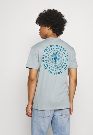 ONSARNE LIFE TEE - T-shirt med print - silver blue