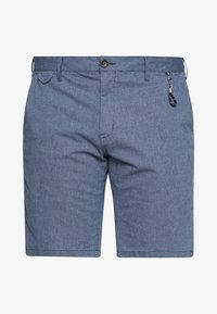 TOM TAILOR MEN PLUS - CHINO STRUCTURE - Shorts - dark blue - 3