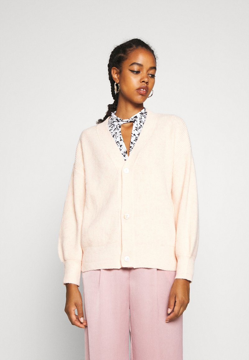 Molly Bracken - LADIES CARDIGAN - Cardigan - offwhite