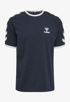 JIMMY - Print T-shirt - black iris