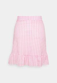 Gina Tricot - ANNIE SKIRT - Mini skirts  - pink - 1