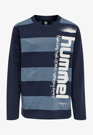 T-shirts print - china blue