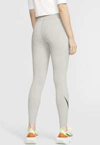 Nike Sportswear - Leggings - dark grey heather/black - 2