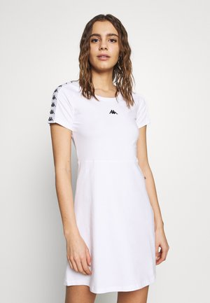 GANGRA - Jersey dress - bright white