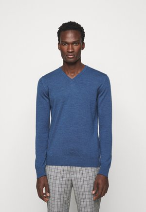 LYMANN - Jumper - egyptian blue melange