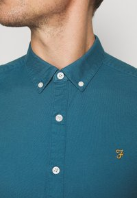 Farah - BREWER - Shirt - blue - 4