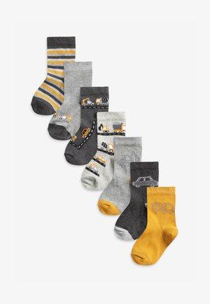 7 PACK  - Socks - light grey