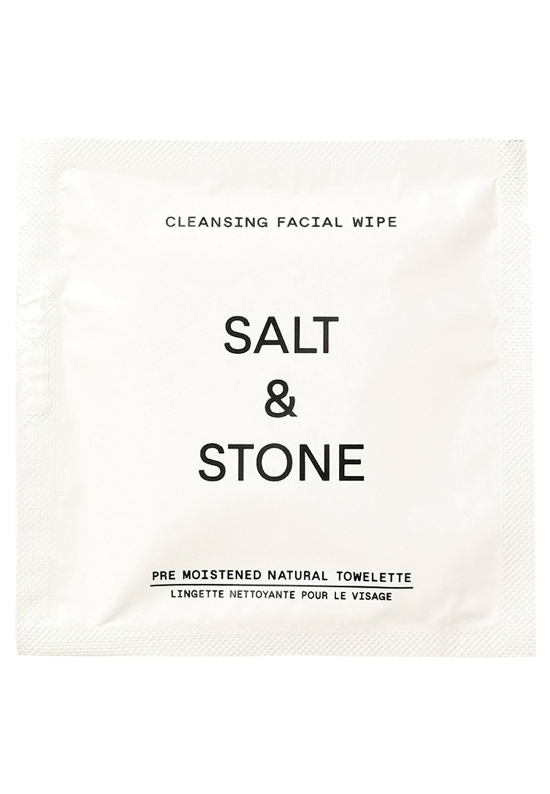 Salt & Stone - CLEANSING FACIAL WIPES - Gesichtsreinigung - -