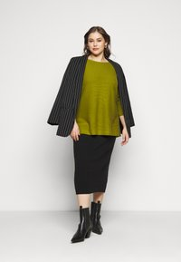 MY TRUE ME TOM TAILOR - STRUCTURED - Jumper - wood green - 1