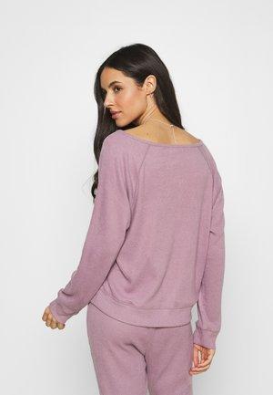 SNIT - Pyjamashirt - elderberry