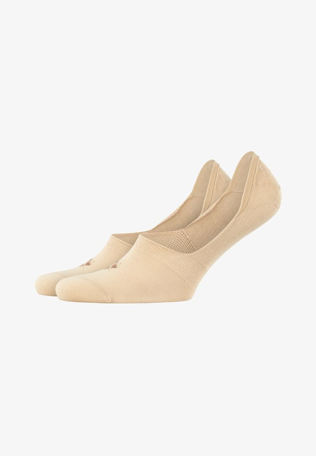2 PACK - Trainer socks - sand (4320)