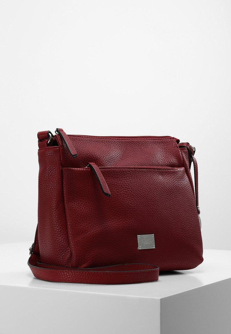 L.CREDI - UMHÄNGETASCHE BUDAPEST - Across body bag - red
