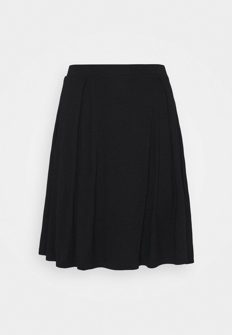 Even&Odd Tall - Áčková sukně - black