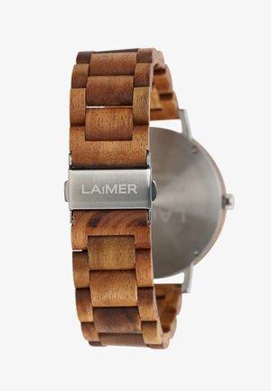 LAIMER QUARZ HOLZUHR - ANALOGE ARMBANDUHR LUDWIG - Uhr - brown