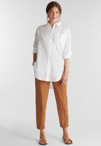 Esprit - FASHION - Trousers - rust brown - 1