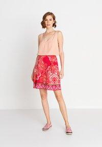 Ivko - Áčková sukně - red - 1