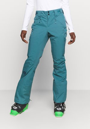 LENADO PANT ROOT BROWN - Skibukser - mallard blue