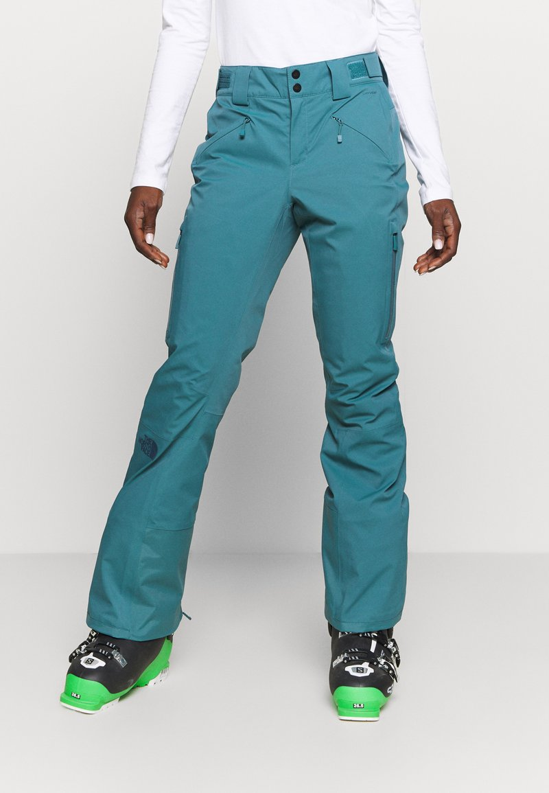 The North Face - W LENADO PANT - Snow pants - mallard blue