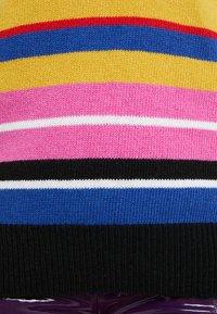 Pinko - SVEDESE PULL MISTO JACQUARD - Jersey de punto - multicicla/mino/nero/viola - 5