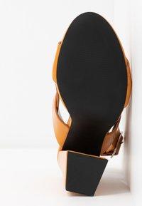 co wren - Korolliset sandaalit - mustard - 6
