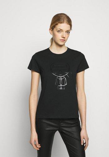 IKONIK OUTLINE  - T-Shirt print - black
