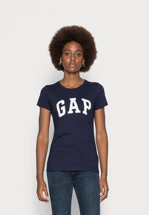 T-shirt z nadrukiem - navy uniform