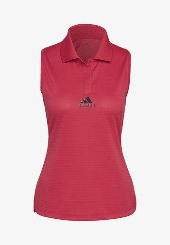 TENNIS MATCH TANK TOP HEAT RDY - Polo shirt - pink