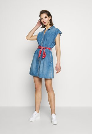 PORTMAN - Denim dress - blue