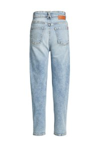WE Fashion - HIGH RISE - MOM JEANS - Relaxed fit jeans - light denim-blue - 1