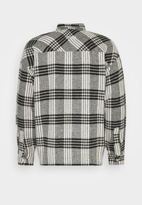 Good For Nothing - BUTTONED HEAVY CHECK RELAXED - Summer jacket - white - 1