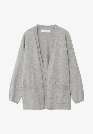 KIMO - Cardigan - gris chiné moyen