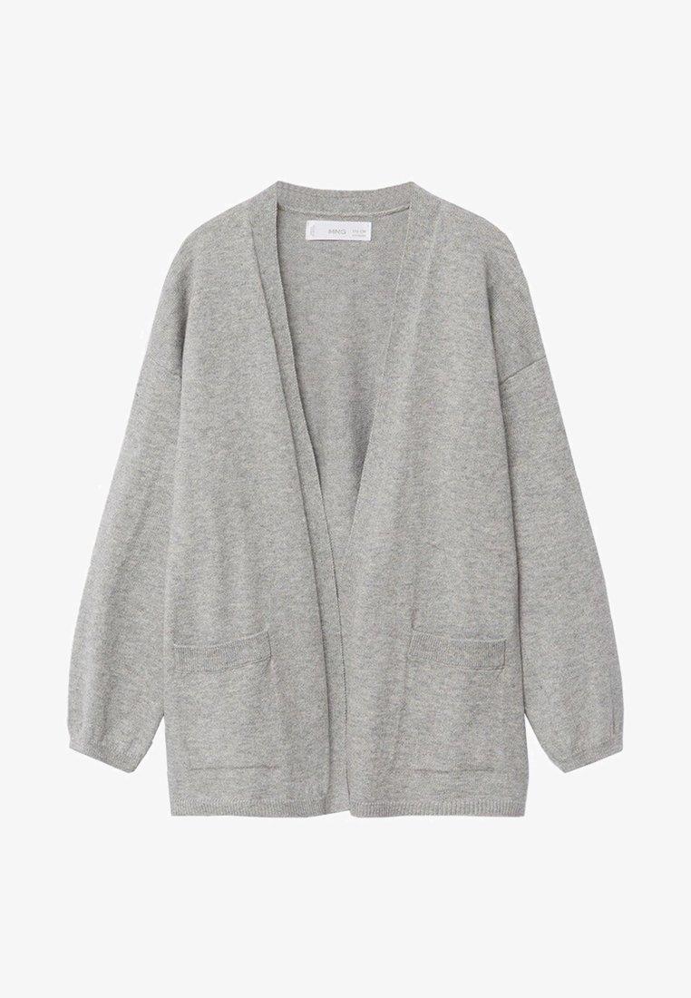 Mango - KIMO - Cardigan - gris chiné moyen