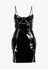 Missguided - HALLOWEEN CAMI MINI DRESS - Vestito estivo - black - 4