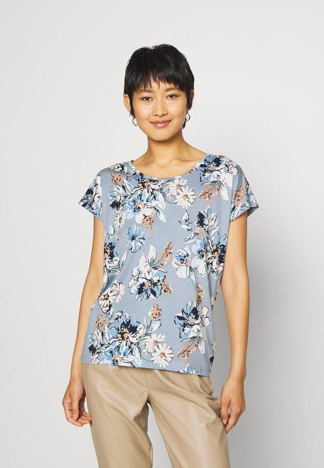 SC-FELICITY AOP 297 - Print T-shirt - dusty blue combi