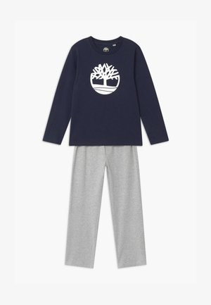 Pyjama set - navy/grey