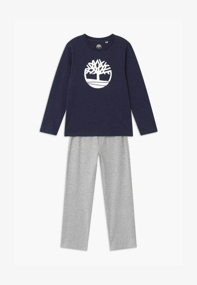 Pyjama set - navy/grey