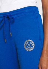 Versace Jeans Couture - PANTS - Tracksuit bottoms - blue - 3