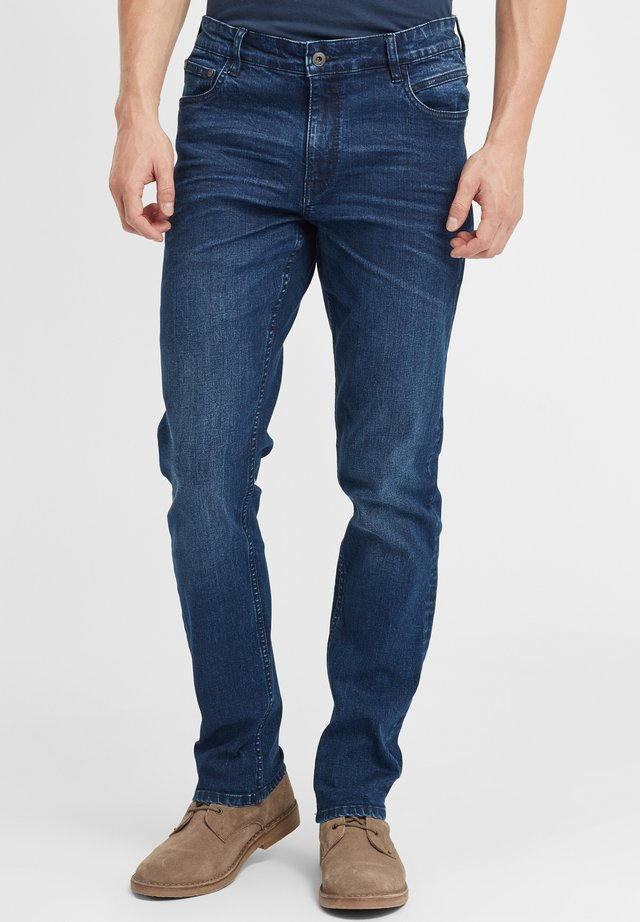 FINLAY - Jeans a sigaretta - middle blue denim