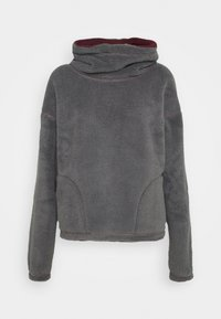 Hollister Co. - REVERSIBLE SHERPA - Fleece jumper - tan/rust - 2