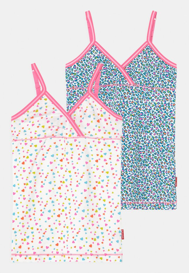 GIRLS SINGLET 2 PACK - Hemd - panther/hearts
